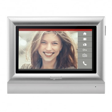 "Additional 7"" touch screen for video door entry kit"