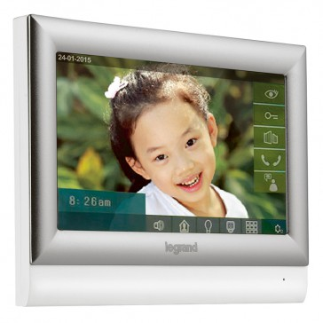 """Additional 10"""" touch screen for video door entry kit"""