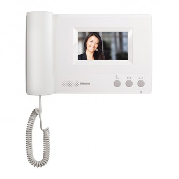 "4.3"" handset additional internal unit for complete ONE FAMILY colour 4.3"" video door entry kit"