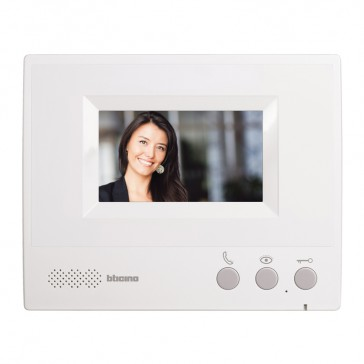 "4.3"" hands-free additional internal unit for complete ONE FAMILY colour 4.3"" video door entry kit"