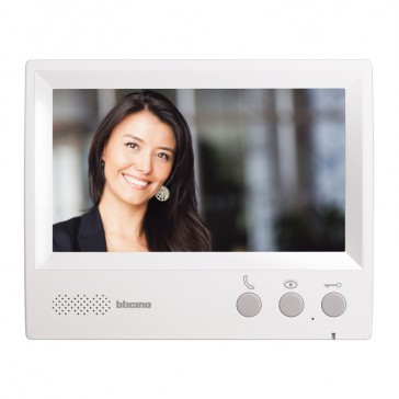 "7"" hands-free additional internal unit for complete ONE FAMILY colour 7"" video door entry kit"