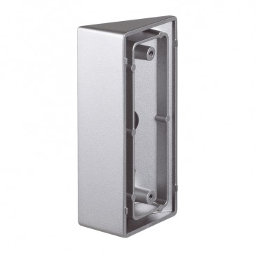 Angle bracket accessory for the installation of external panels Cat.Nos 3 695 96 and 3 695 95