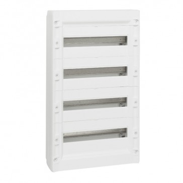 Distribution cabinet XL³ 125 - 4 rows - 72 modules - surface mounting