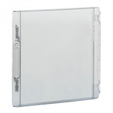 Door - for XL² 125 distribution cabinet Cat.No 4 016 77 - Transparent