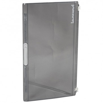 Door - for XL² 125 distribution cabinet Cat.No 4 016 79 - Transparent