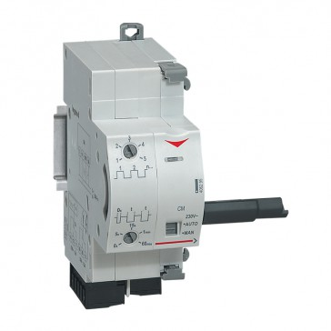 Motorised control DX³ 230 V~ - automatic resetting - 2 modules