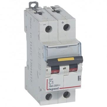 MCB - DX³ - 16 kA - direct current - 12 V= to 500 V= - 2P - 1 A