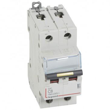MCB - DX³ - 16 kA - direct current - 12 V= to 500 V= - 2P - 8 A