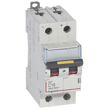 MCB - DX³ - 16 kA - direct current - 12 V= to 500 V= - 2P - 16 A