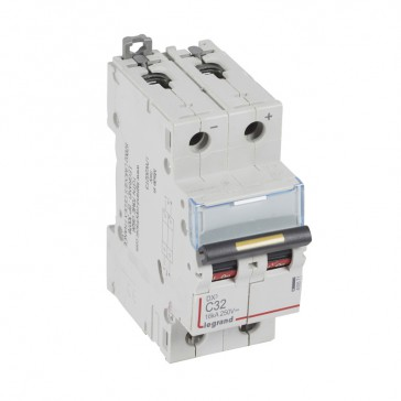 MCB - DX³ - 16 kA - direct current - 12 V= to 500 V= - 2P - 32 A