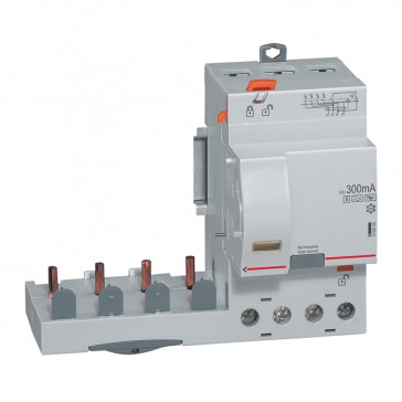 Add-on modules DX³ - 4P 400 V~ -63 A-300 mA selective - Hpi type -1 module DX³ MCB