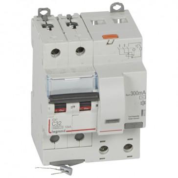 RCBO - DX³ 6000 -10 kA -2P-230 V~ -32 A -300 mA -AC type