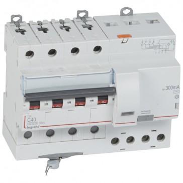 RCBO - DX³ 6000 -10 kA -4P-400 V~ -40 A -300 mA -AC type