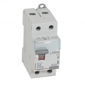 RCD DX³-ID - 2P 230 V~ - 25 A - 100 mA - AC type