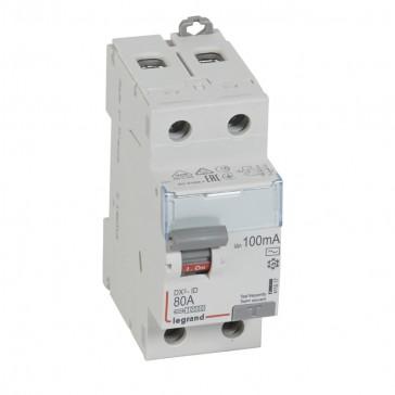 RCD DX³-ID - 2P 230 V~ - 80 A - 100 mA - AC type