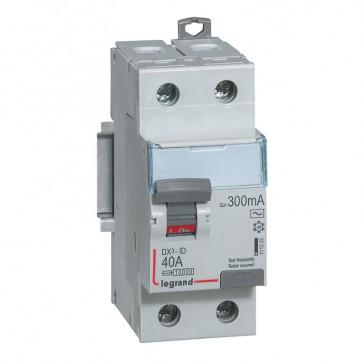 RCD DX³-ID - 2P 230 V~ - 40 A - 300 mA - AC type