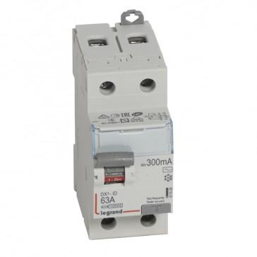 RCD DX³-ID - 2P 230 V~ - 63 A - 300 mA - AC type