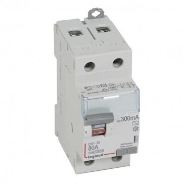 RCD DX³-ID - 2P 230 V~ - 80 A - 300 mA - AC type