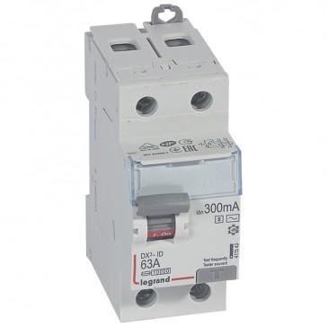 RCD DX³-ID - 2P 230 V~ - 63 A - 100 mA selective - AC type