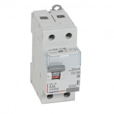 RCD DX³-ID - 2P 230 V~ - 63 A - 30 mA - Hpi type