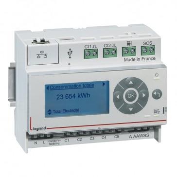 Measurement concentrator EMDX³ - 6 modules