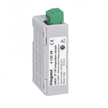 modules for EMDX³ Premium - temperature modules - 2 Pt100 inputs resistance