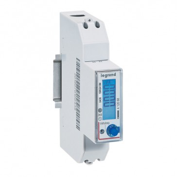 Single-phase meter EMDX³ direct connection - non-MID - 45 A - RS485 output - 1 module