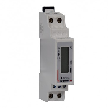 Single-phase meter EMDX³ - MID compliant - 45 A - pulse output - 1 module