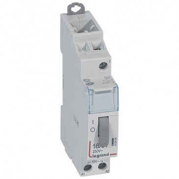 Single pole latching relay - standard - 16 A - 12 V - 1 N/O