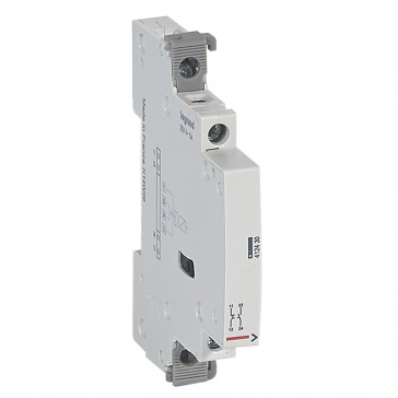 Signalling auxiliary - for 2 modules contactor 25 A