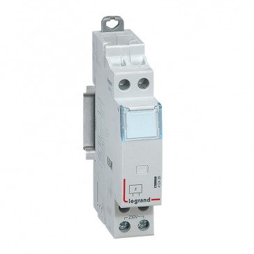 Impedance compensator for 230 V~ pulse operated latching relay