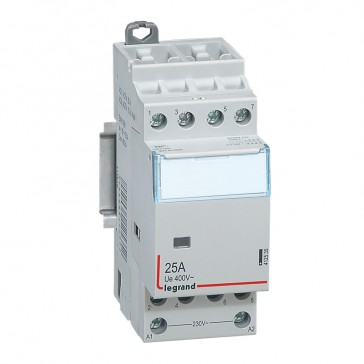 Power contactor CX³ - with 230 V~ coll - 4P 400 V~ - 25 A - 4 N/O