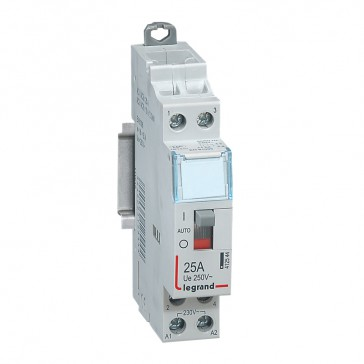 Power contactor CX³ - with 230 V~ coll and handle - 2P 250 V~ - 25 A