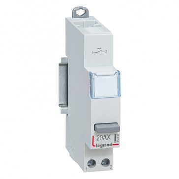 Push-button single-function - 20 A 250 V~ - 1 NO
