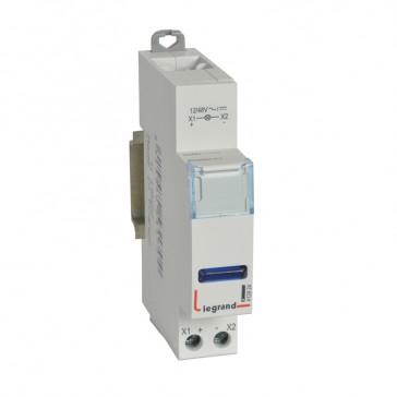 LED indicator - blue 12/48 V~/= - 1 module