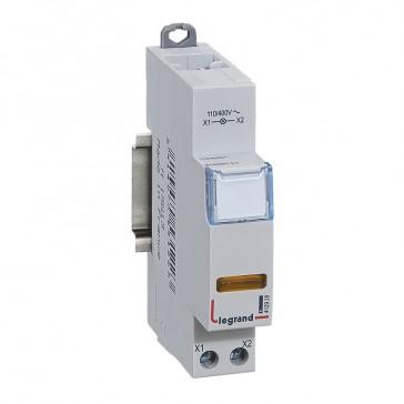 LED indicator - yellow 110/400 V~ - 1 module