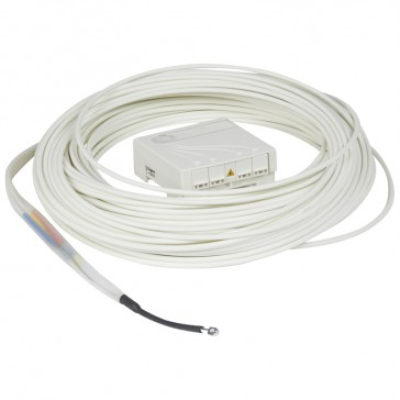 OTO - FttH prewired/preterminated - 4 OF - 4 SC/APC feedthroughs - 40 m cable