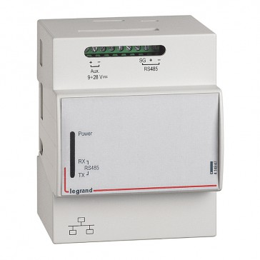 Energy management multi-support web server for 10 modules bus adresses or 10 pulse modules