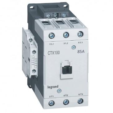 3-pole contactors CTX³ 65 - 85 A - 110 V~ - 2 NO + 2 NC - lug terminals