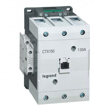 3-pole contactors CTX³ 150 - 130 A -100- 240 V~/= - 2 NO + 2 NC - lug terminals