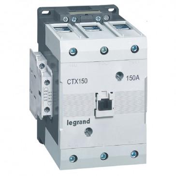 3-pole contactors CTX³ 150 - 150 A - 24 V= - 2 NO + 2 NC - lug terminals