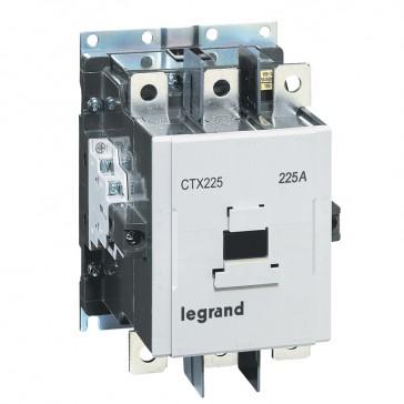 3-pole contactors CTX³ 225 - 225 A - 100-240 V~/= - 2 NO + 2 NC -screw terminals