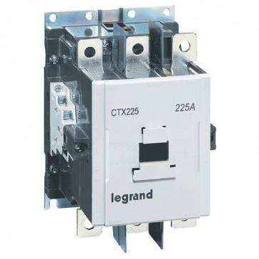 3-pole contactors CTX³ 225 - 225 A - 380-450 V~ - 2 NO + 2 NC - screw terminals