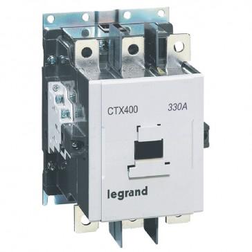 3-pole contactors CTX³ 400 - 330 A - 100-240 V~/= - 2 NO + 2 NC -screw terminals