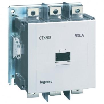3-pole contactors CTX³ 800 - 500 A - 200-240 V~/= - 2 NO + 2 NC -screw terminals