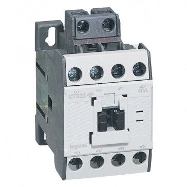 4-pole contactors CTX³ - without auxiliary contact - 40/22 A 230 V~