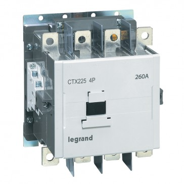 4-pole contactors CTX³ - with auxiliary contact - 330/225 A - 100-240 V~/=