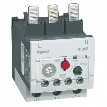 Thermal overload relay RTX³ 65 - 24 to 36 A - for CTX³ 65 - diff.