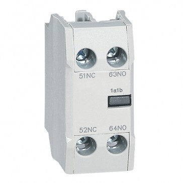 CTX³ add-on aux. contact -for CTX³ 22/40/65/100/150-1 NO + 1 NC - Front mounting