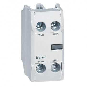 CTX³ add-on aux. contact - for CTX³ 22/40/65/100/150 - 2 NO - Front mounting